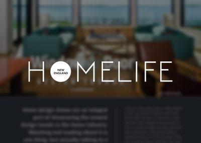 HOMELIFE Magazine Design